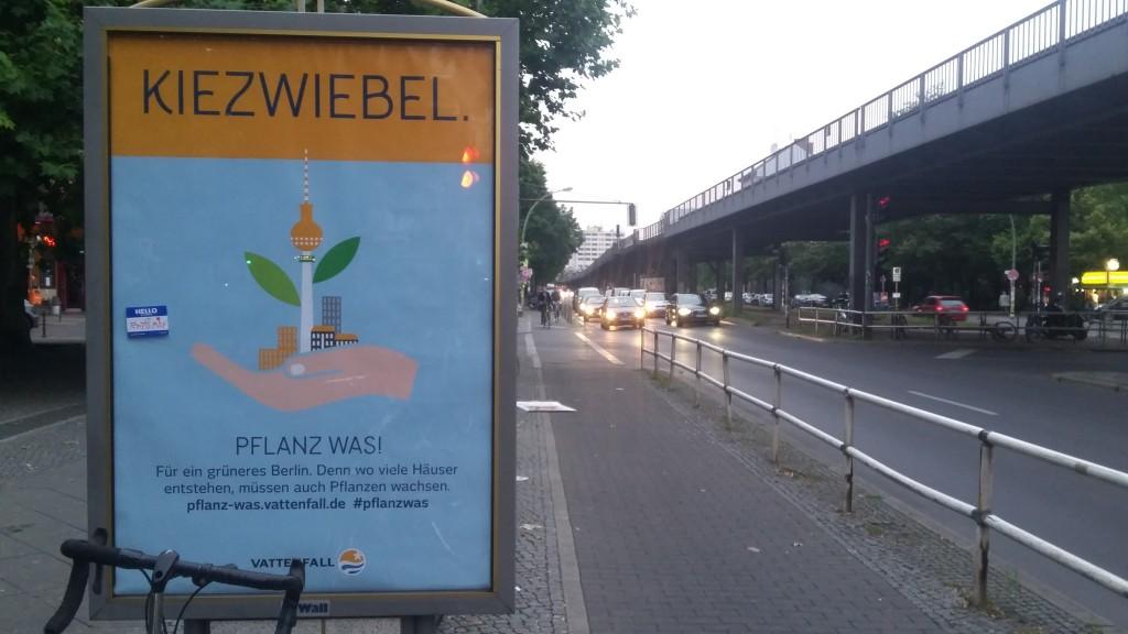 Kiezzwiebel_Vattenfall Poster